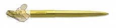 Goldring Automatik - 24 k vergoldet (35 x 7 mm)