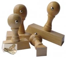 Holzstempel - 10 x 10 mm