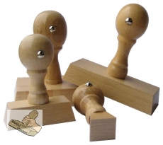 Holzstempel - 60 x 25 mm