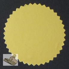 Siegelmarken / Haftetiketten (Ø 56 mm) gold-glänzend