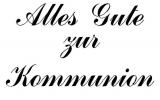 Motivstempel Alles Gute zur Kommunion