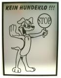 Hinweisschild - Kein Hundeklo