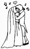 Motivstempel Brautpaar