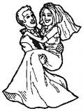 Motivstempel Brautpaar 2