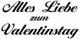 Motivstempel Alles Liebe zum Valentinstag (Ballantines)