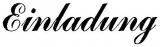 Motivstempel Einladung (CommercialScript)