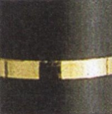 Goldring Automatik - matt schwarz (35 x 7 mm)