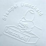 Prägezange - Tischmodell JustRite JD (Blattstärke bis 120 g/m²)