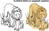 Motivstempel Löwe
