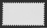 Siegelmarken / Haftetiketten (60 x 34 mm) silber-glänzend