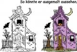 Motivstempel Hexenhaus