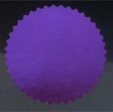 Siegelmarken / Haftetiketten (Ø 56 mm) Violett