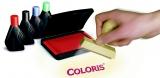 Coloris Stempelfarbe 4010, 28 ml - Blau